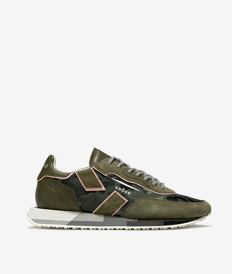 GHOUD: RUSH LOW COLOR GREEN CAMOUFLAGE