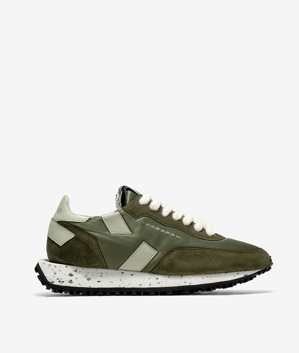 GHOUD: R-RUSH ONE LOW GREEN