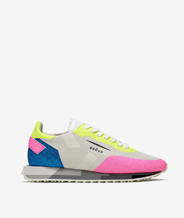 GHOUD: RUSH STARLIGHT LOW BIANCO FLUO