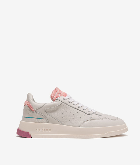 GHOUD TWEENER LOW BIANCO ROSA