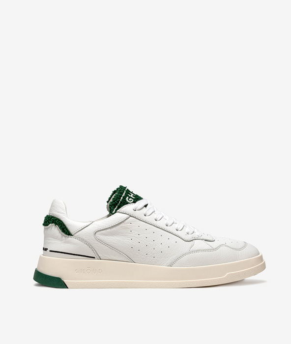GHOUD TWEENER LOW BIANCO VERDE