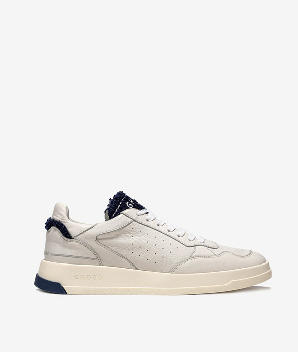 GHOUD: TWEENER LOW BIANCO BLU